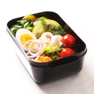 Frozzypack geïsoleerde lunchbox gevuld