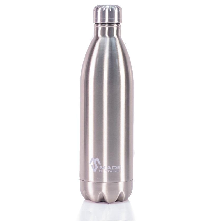 made sustained big silver 1000ml ge soleerde fles waterflessenwinkel. Black Bedroom Furniture Sets. Home Design Ideas