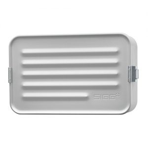 SIGG aluminium lunchbox maxi grijs alu