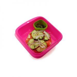 goodbyn salad of sandwich roze open