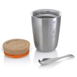 Black & Blum thermo pot rvs leeg