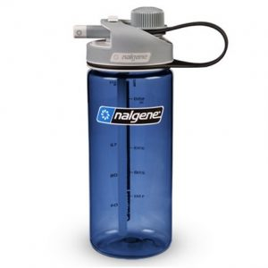 Nalgene Multidrink bottle Blue tritan wit grey cap