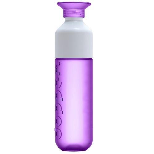 Dopper paars drinkfles waterfles fles bidon