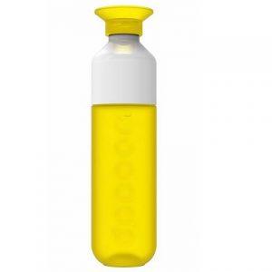 Dopper drinkfles geel waterfles