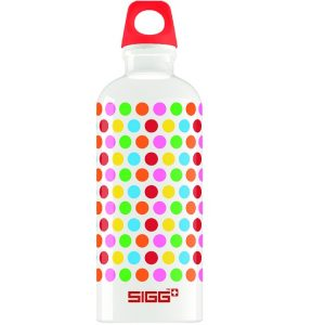 Sigg dots design aluminium fles 600ml