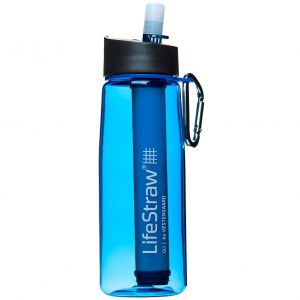 LifeStraw Go waterfles met filter blauw