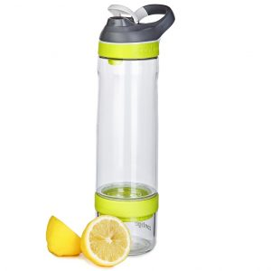 Contigo Cortland Infuser clear vibrant lime 770ml waterfles fruitfles